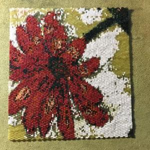 Eva Flower and Dragonflies wrk panel 1 row 163 7900