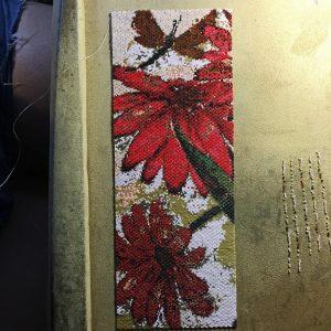 Eva Flower and Dragonflies wrk panel 1 row 373 18400