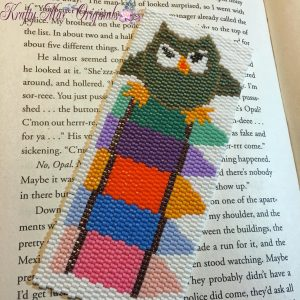 Owl and Crayon Bookmark 3
