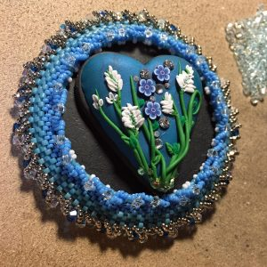 Peace Train Art heart wrk 11 b