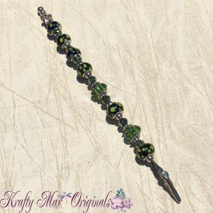 NHN Klasp Helper Green Large Hole beads 2