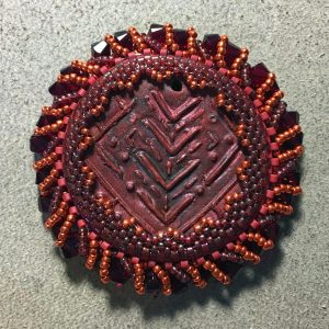 Red Tribe Necklace wrk 10