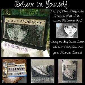 Believe in Yourself Beadwoven Wall Art copy