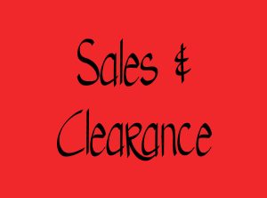 Sales/Clearance Items