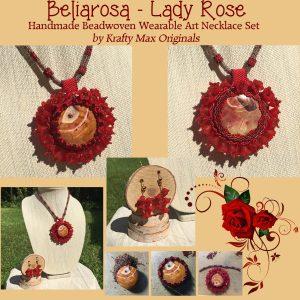 beliarosa-lady-rose-handmade-beadwoven-wearable-art-necklace-set-1