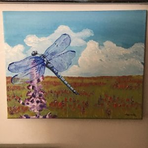 dragonfly-painting