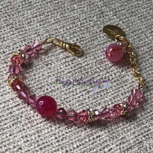 PURE PINK Swarovski Crystal Bracelet