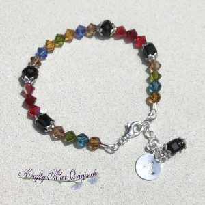 Multi Color Swarovski Crystal Bracelet