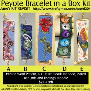 JUNE REVISIT Bracelet in a Box Kit