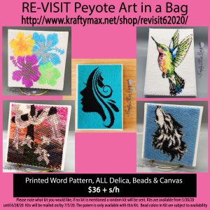 JUNE REVISIT Art in a Bag Kit