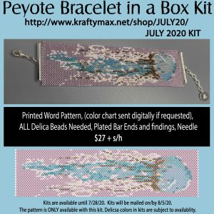 JULY Jellyfish Bracelet Kit in a Box