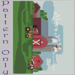 Farm 8×10 Wall Art RETAIL PATTERN ONLY