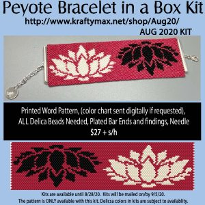 August Lotus Bracelet Kit in a Box