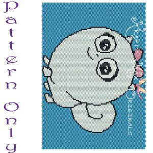 Gidget 5×7 Kawaii Drawing Art PATTERN ONLY