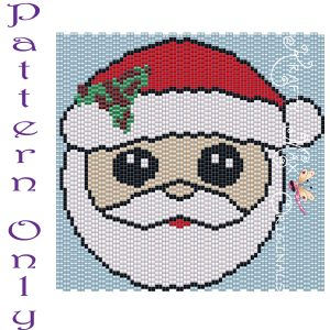 Santa 4×4 Art PATTERN ONLY