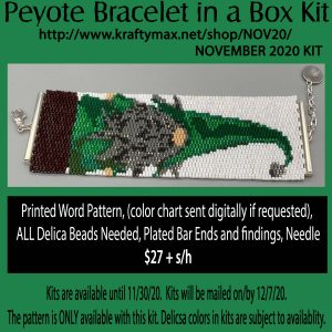Knome Bracelet in a Box November 2020 Kit