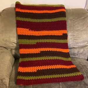 Fall Mixed Up Blanket by Krafty Max Originals