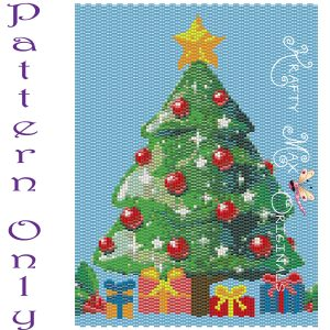 Christmas Tree 2020 5×7 Art PATTERN ONLY