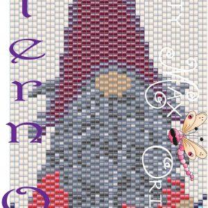 Knitting Knome Beadwoven Bracelet PATTERN ONLY